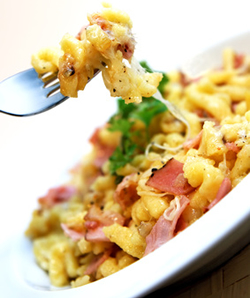 Spätzle and Cheese