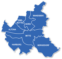 Districts of Hamburg