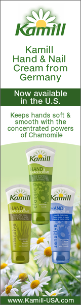 Kamill Cosmetics is now available in the U.S.